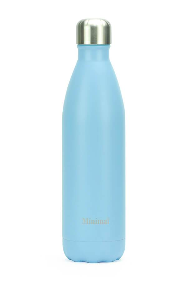 Healthy Lifestyles - Minimal - Insulated Water Bottle, Limpet, 750ml