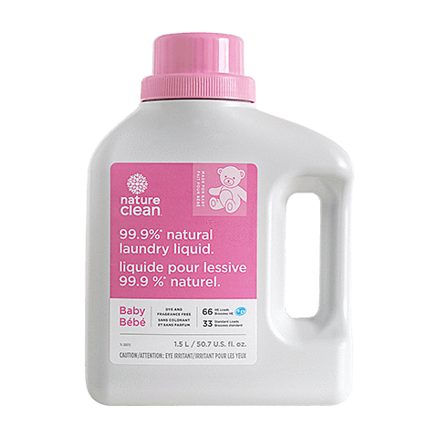 Healthy Lifestyles - Nature Clean - Baby Laundry Liquid, 1.5L
