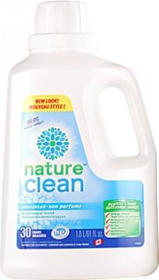 Healthy Lifestyles - Nature Clean - Unscented Laundry Liquid - 1.82 L