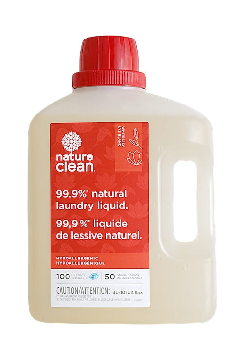 Healthy Lifestyles - Nature Clean - White Lily & Moroccan Myrrh Laundry Liquid, 3L