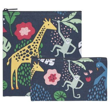 Healthy Lifestyles - Now Designs - Snack Bag (Wild Bunch, Set Of 2)