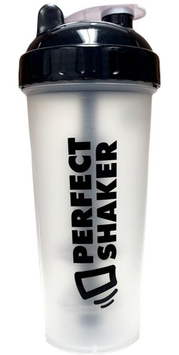 Healthy Lifestyles - Perfect Shaker - Black Shaker - 800ml