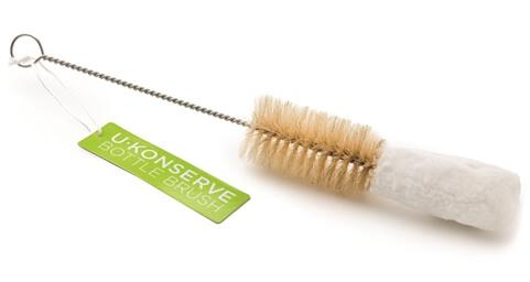 Healthy Lifestyles - U Konserve - Bottle Brush With Scrubbing Bristles