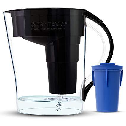 Home & Life - Santevia - Water Pitcher Mina, Black