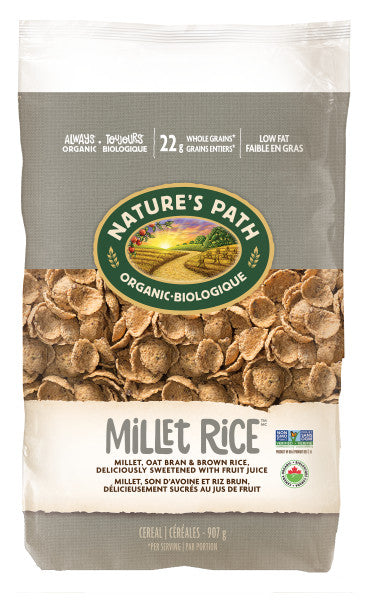 Nature's Path - Organic Millet Rice Flakes, 907g