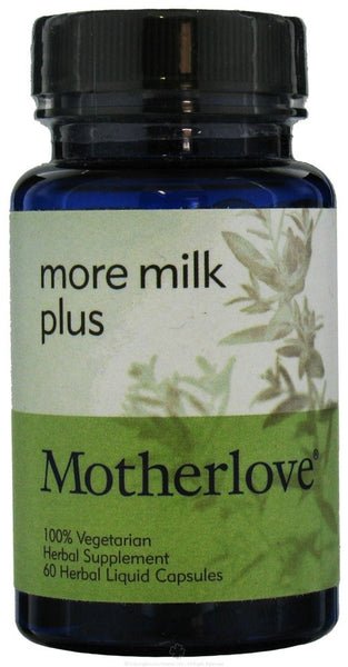 Motherlove - More Milk Plus - 60 Capsules - Goodness Me!