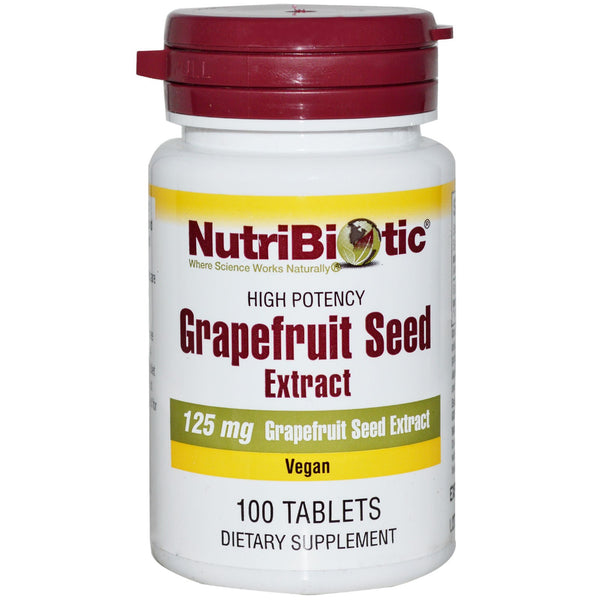 NutriBiotic - Grapefruit Seed Extract, 100 tabs - Goodness Me!