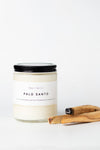 Wax + Fire - Palo Santo Soy Candle, 8oz