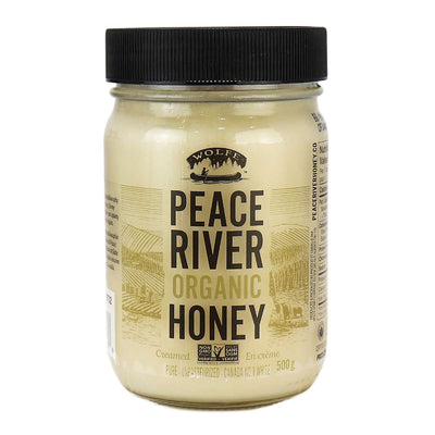 Peace River - Organic Honey, Creamed Unpasteurized, 500g
