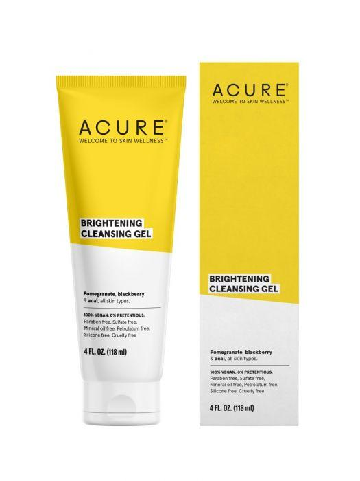 Personal Care - Acure - Brilliantly Brightening Cleansing Gel, 4oz