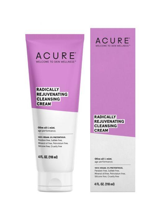 Personal Care - Acure - Radically Rejuvenating Cleansing Cream, 4oz