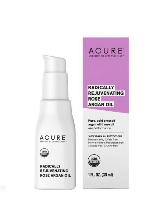 Personal Care - Acure - Radically Rejuvenating Rose Argan Oil, 30ml