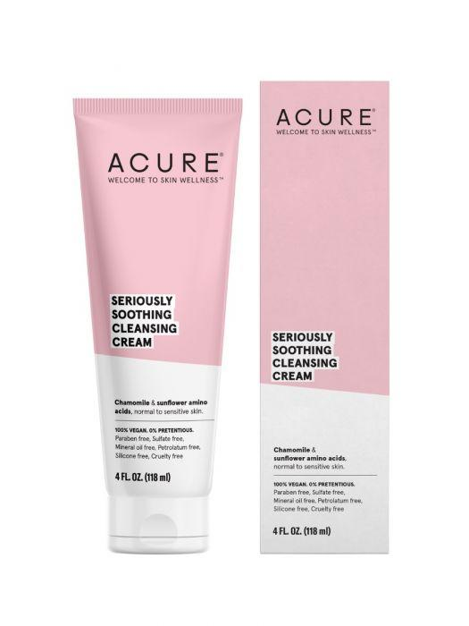Personal Care - Acure - Seriously Soothing Cleansing Cream, 4oz