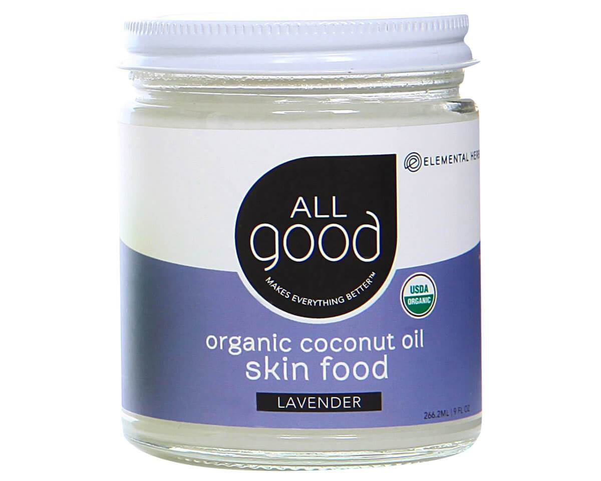 Personal Care - All Good - Lavender Coconut Oil Skin Food, 266ml