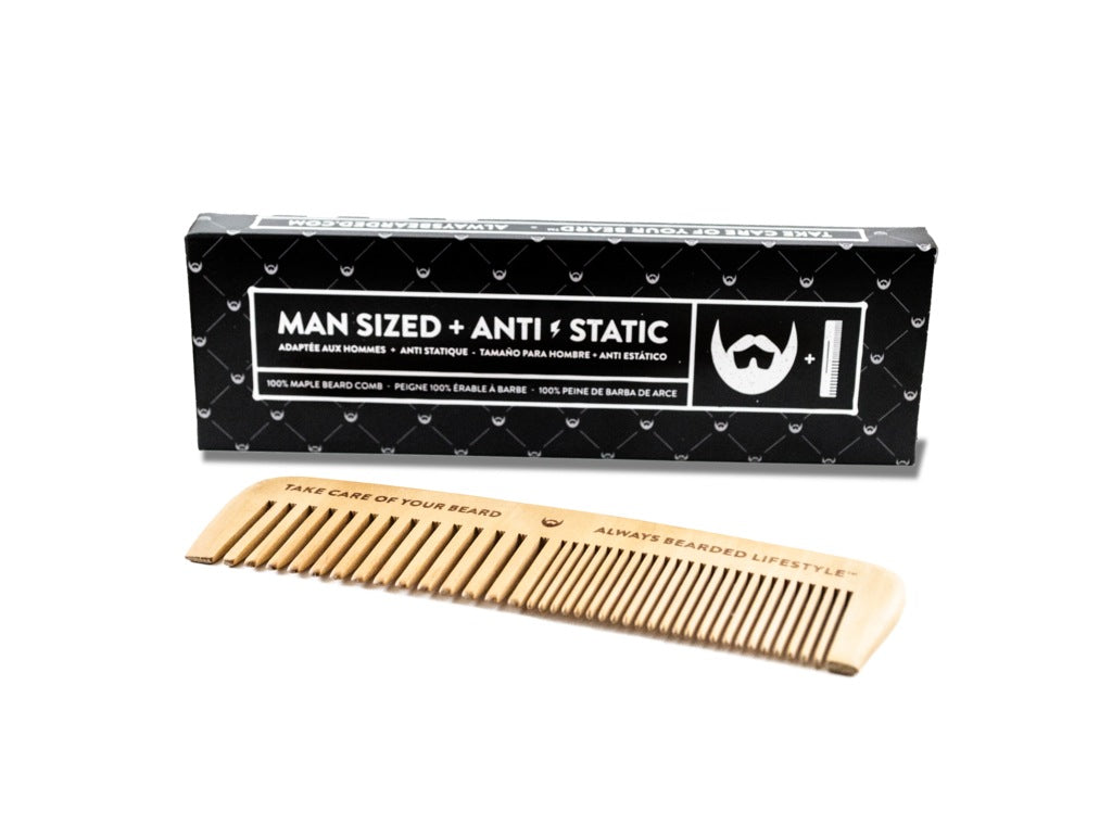 Personal Care - Always Bearded - Maple Beard Comb