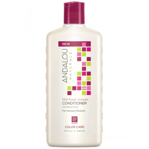Personal Care - Andalou Naturals - 1000 Roses Care Conditioner, 340ML