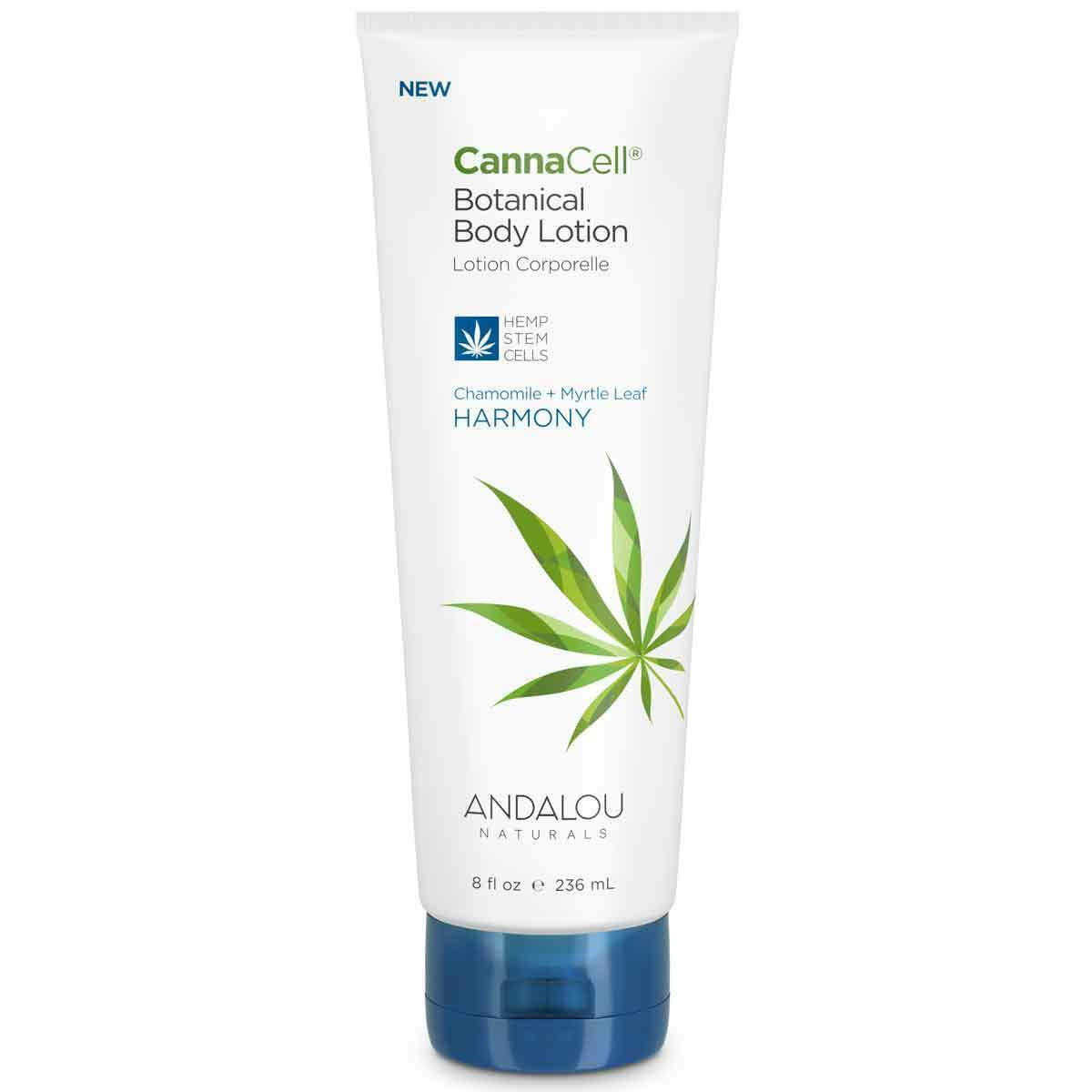 Personal Care - Andalou Naturals - CannaCell®Body Lotion (Harmony), 236mL