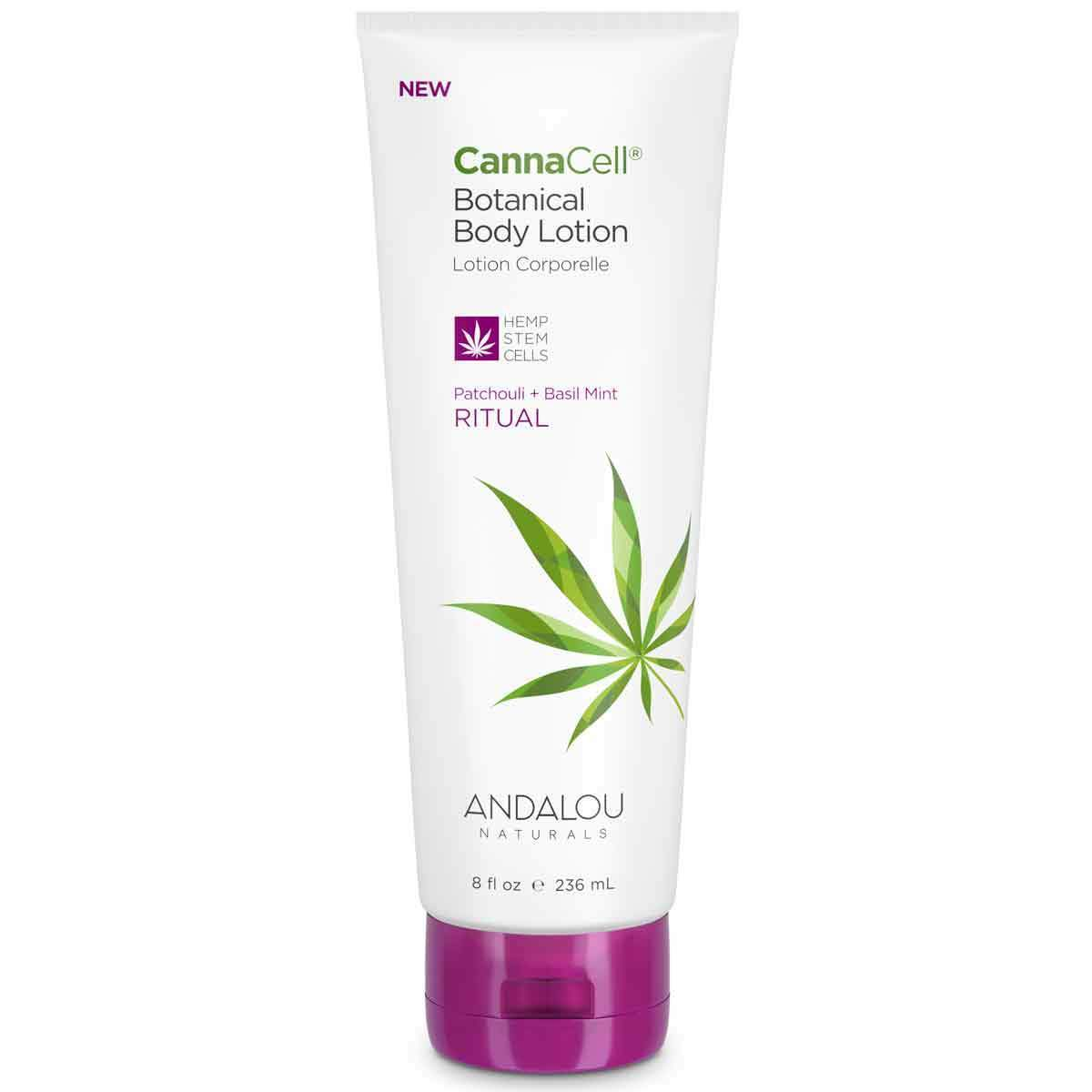Personal Care - Andalou Naturals - CannaCell®Body Lotion (Ritual), 236mL