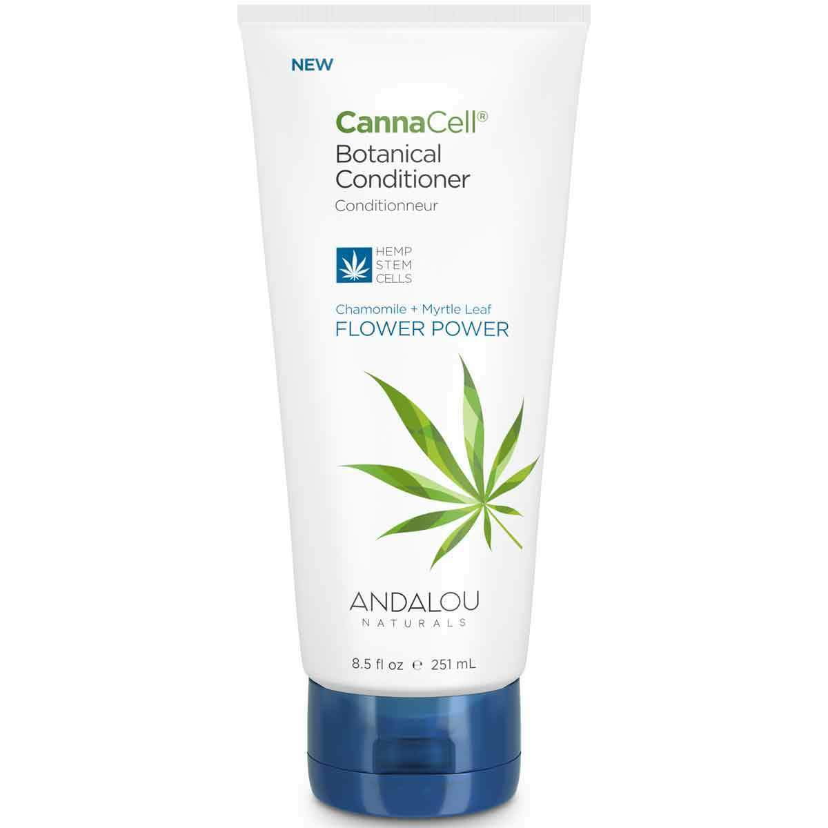 Personal Care - Andalou Naturals - CannaCell® Botanical Conditioner (Flower Power), 251mL
