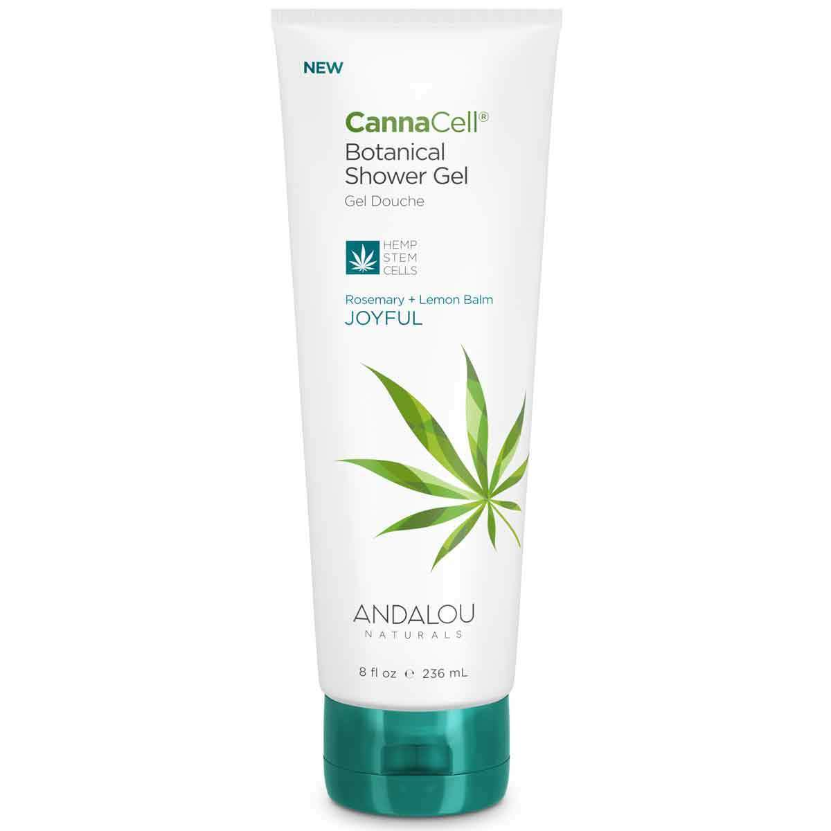 Personal Care - Andalou Naturals - CannaCell®Shower Gel (Joyful), 236mL