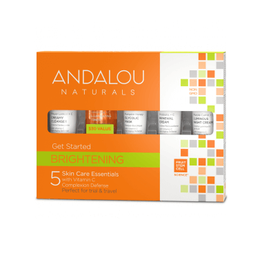 Personal Care - Andalou Naturals - Get Started Brightening Kit