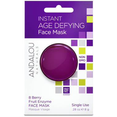 Personal Care - Andalou Naturals - Instant Age Defying Mask, 8g