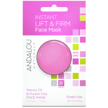 Personal Care - Andalou Naturals - Instant Lift & Firm Face Mask, 8g
