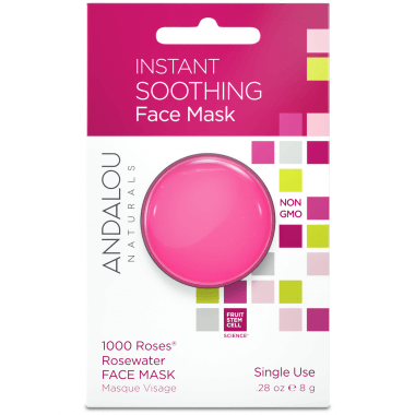 Personal Care - Andalou Naturals - Instant Soothing Face Mask, 8g