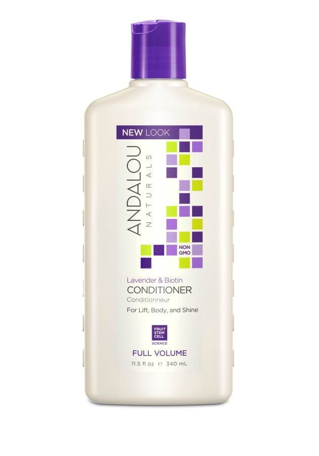 Personal Care - Andalou Naturals - Lavender Biotin Full Volume Conditioner, 340ml