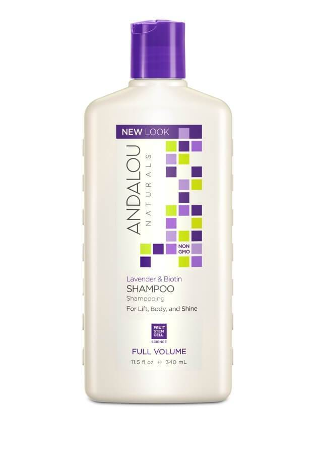 Personal Care - Andalou Naturals - Lavender Biotin Full Volume Shampoo, 340ml