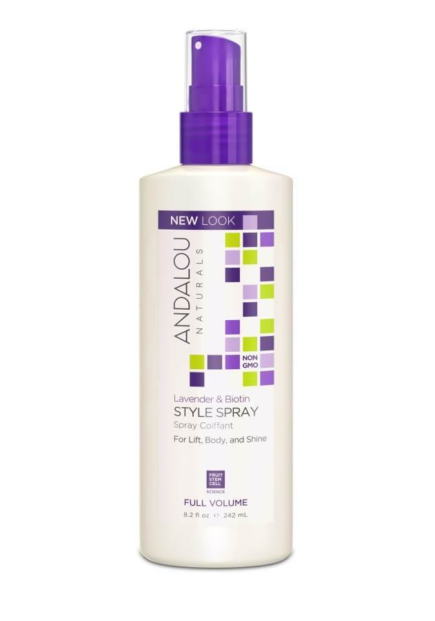 Personal Care - Andalou Naturals - Lavender Biotin Full Volume Style Spray, 242ml