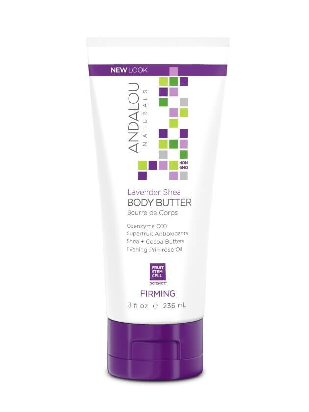 Personal Care - Andalou Naturals - Lavender Shea Firming Body Butter, 236ml