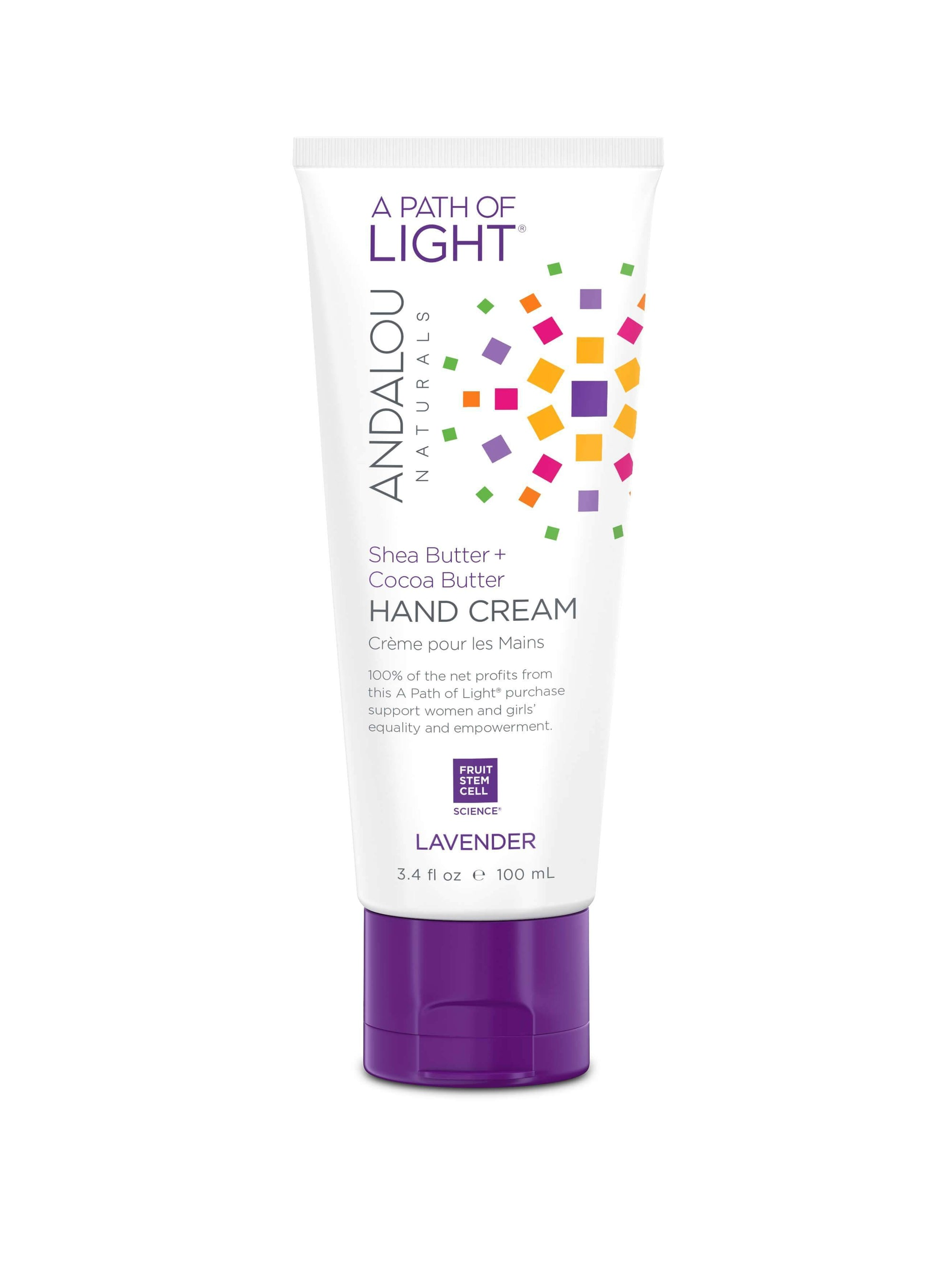 Personal Care - Andalou Naturals - Lavender Shea Hand Cream, 100ml
