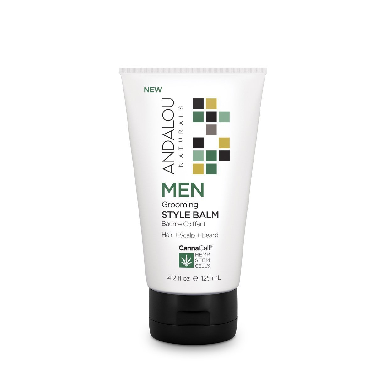 Personal Care - Andalou Naturals - Men's Grooming Style Balm, 125mL