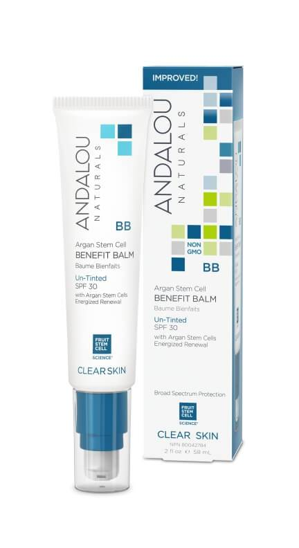 Personal Care - Andalou Naturals - Oil Control Beauty Balm Un-Tinted With SPF 30, 58ml