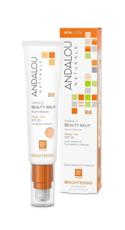 Personal Care - Andalou Naturals - Sheer Tint Beauty Balm SPF30,  58ml