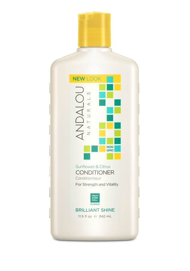 Personal Care - Andalou Naturals - Sunflower Citrus Brilliant Shine Conditioner, 340ml