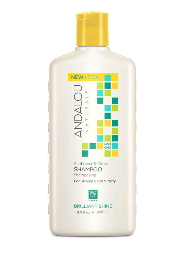 Personal Care - Andalou Naturals - Sunflower Citrus Shampoo, 340ml