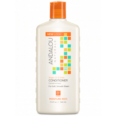 Personal Care - Andalou Naturals - Sweet Orange Argan Conditioner, 340ml