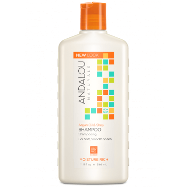 Personal Care - Andalou Naturals - Sweet Orange Argan Shampoo, 340ml