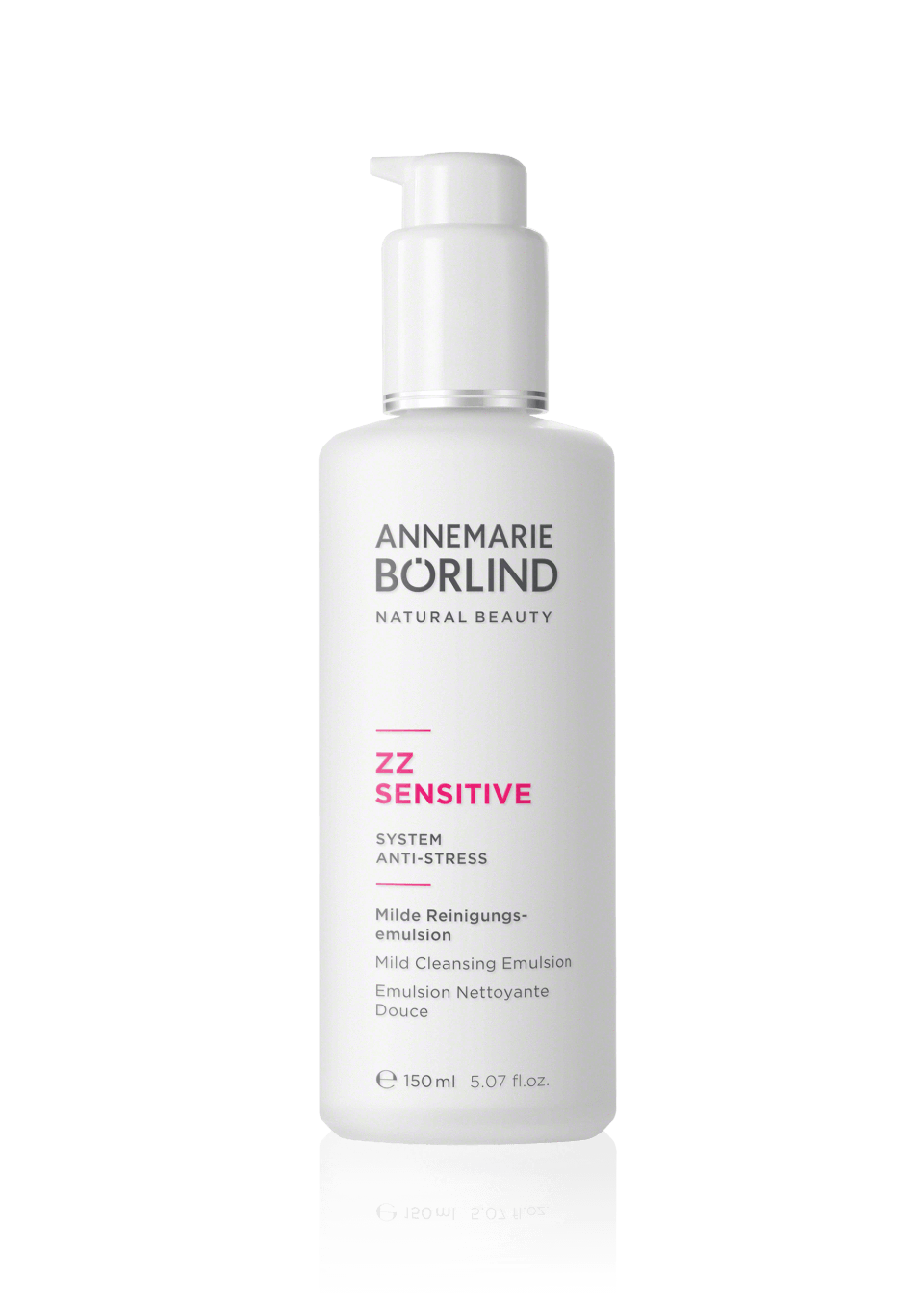 Personal Care - Annemarie Borlind ZZ Sensitive Mild Cleansing Emulsion, 150mL