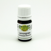 Personal Care - Awaken My Senses Organics - Lemongrass Oil - 5ml