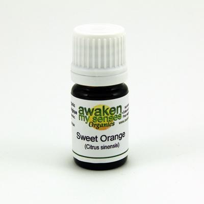 Personal Care - Awaken My Senses Organics - Sweet Orange Oil, 5ml