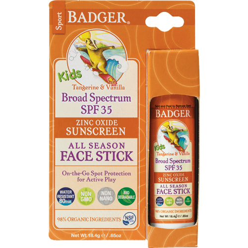 Personal Care - Badger SPF 35 Kids' Face Stick, 18.4g