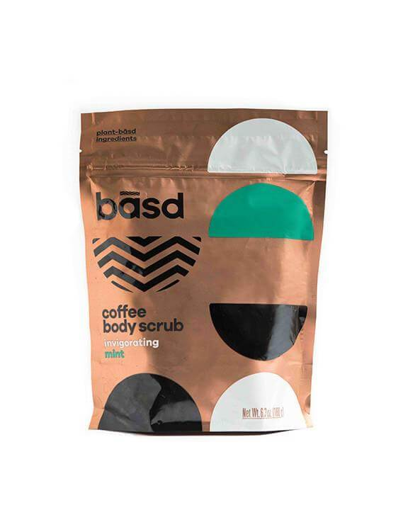 Personal Care - Basd - Coffee Body Scrub Invigorating Mint, 180g