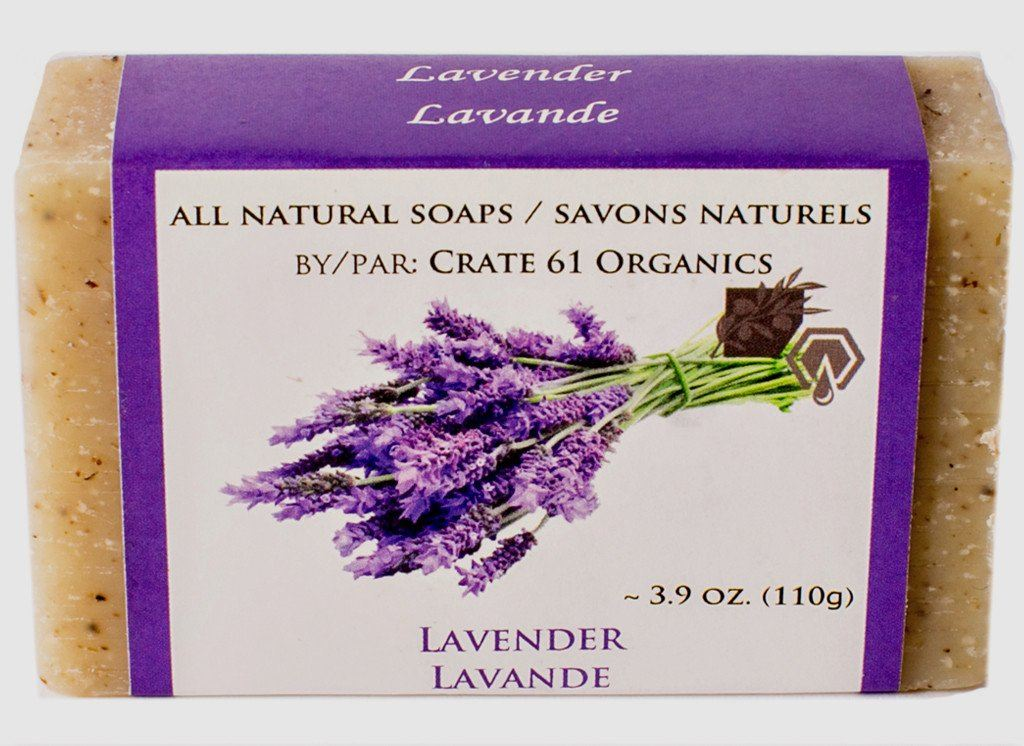 Personal Care,Beauty & Skin Care - Crate 61 - Lavender Soap, 110g