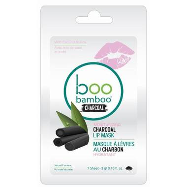 Personal Care - Boo Bamboo - Charcoal Lip Mask, 3g