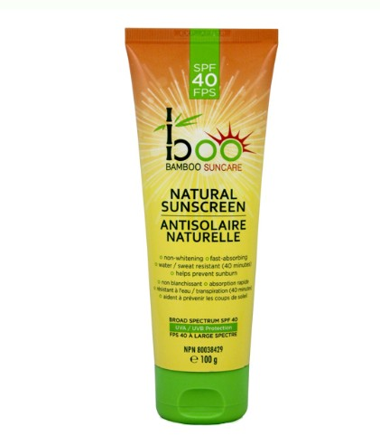 Personal Care - Boo Bamboo SPF 40 Sunscreen Lotion, 100mL