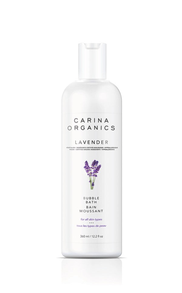 Personal Care - Carina Organics - Bubble Bath - Lavender, 360ML