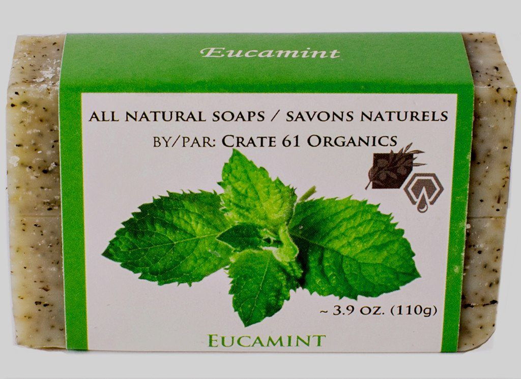 Personal Care - Crate 61 - Eucamint Soap, 110g